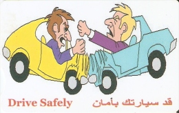 TARJETA DE SIRIA DE 350 POUNDS DE DRIVE SAFELY (ACCIDENTE DE COCHE) - Syria