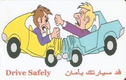 TARJETA DE SIRIA DE 350 POUNDS DE DRIVE SAFELY (ACCIDENTE DE COCHE)