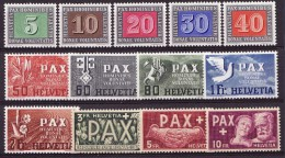 1945   no .266 � 274  -  La s�rie PAX - luxe