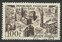 France, 100 F. 1949, Sc # C23, Mi # 861, Used - Airmail