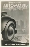 BERLIN - 1938 , Internationale Automobil- Und Motorrad-Ausstellung - Non Classés