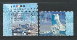 Ukraine 2009 Mi - 1027/1028.Preservation Of The Polar Regions And Glaciers.MNH - Ukraine