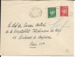 PETAIN - 1942 - ENVELOPPE ENTIER POSTAL De PARIS