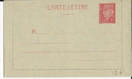 PETAIN - 1941 - CARTE LETTRE ENTIER GRIS BLEUTE NEUVE - COTE STORCH = 45 EUR. - Biglietto Postale