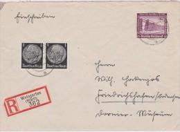 ALLEMAGNE  1937 LR DE WEINGARTEN - Germany
