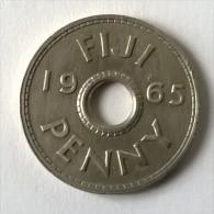 Monnaie - Fidji - 1 Penny 1965 - Superbe - - Fiji