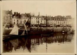 76 - DIEPPE - Très Belle PHOTO - Bateau Vapeur - Quais - Lieux