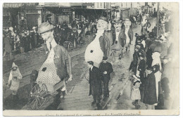 CANNES (06) La Famille GROSLARDON Au Corso Du Carnaval 1912 - Belle Animation - Cannes