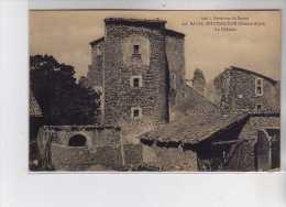 LA BATIE MONTSALEON - Le Château - Très Bon état - Andere Gemeenten