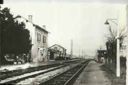 D47 - TRENTELS  LADIGNAC  - LA GARE - France