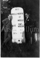 Photo Ancien / Foto / Old Photo / Meurthe-et-Moselle / France / Metz / Pont-à-Mousson / Hommes / Men - Lieux