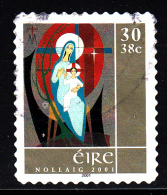 Ireland Used Scott #1352 30p (38c) Madonna And Child - Christmas