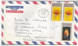 NUEVA ZELANDA PUKEKOHE 1972 SELLOS NAVIDAD ARTE PINTURA MURILLO - Madonnas