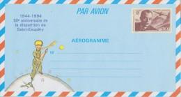 Aerogramme 1021-AER  Neuf**50é Anniversaire De La Disparition D´Antoine De Saint-Exupéry . - Aerogrammi