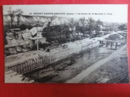 "Aisne / Origny-Sainte-Benoite "" Le Canal De La Sambre A L'Oise "" - Francia"
