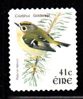 Ireland Used Scott #1434 41c Goldcrest Perf 11 X 11.25 - Coils - Birds - Usati