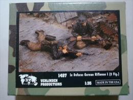 "- VERLINDEN - Figurines "" In Defense German Rifleman I ""- 1/35°- Réf 1497 - Figurines"
