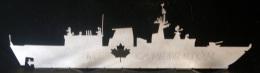 """CANADA - STEEL MODEL FREGATE """" CAPE BRETON"""" - Barche"""