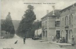 52, Haute-Marne, VECQUEVILLE,765 Habitants, Route De Saint-Dizier, Animations, Scan Recto-Verso - Saint Dizier