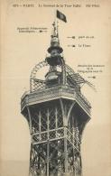 75 PARIS TOUR EIFFEL SOMMET ND - Tour Eiffel