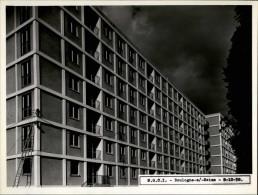 92 - BOULOGNE - 4 PHOTOS 1958 - Construction Immeuble - Photo Compère à Levallois - Architecture - Lieux