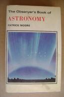PCV/47 Patrick Moore The Observer´s Book Of ASTRONOMY/ASTRONOMIA F.Warne 1973 - Astronomia