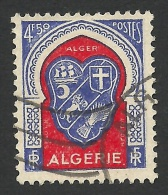 Algeria, 4,50 F. 1947, Sc # 220, Mi # 271, Used. - Gebraucht