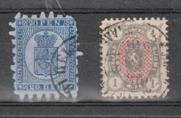 Y & T N°8 Et 25 VENDUS EN L'ETAT - 1856-1917 Russian Government