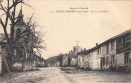 Chatel Chehery - 122- Guerre 1914-18 : Rue Laloy Chenet - Other Municipalities