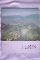 PCV/60 Guida Turistica TURIN Gros Monti Anni ´60/Santuario Consolata/Armeria Reale/Museo Cinema/Aeroporto Di Caselle - Turismo