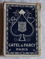 Ancien Jeu De 52 Cartes à Jouer CATEL & FARCY Incomplet Portraits Français - Carte Da Gioco