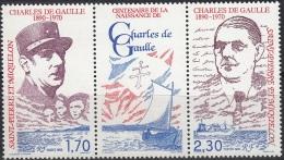 Saint-Pierre Et Miquelon 1990 Yvert 532A Neuf ** Cote (2015) 2.30 Euro Général Charles De Gaulle - Neufs