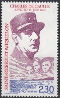 Saint-Pierre Et Miquelon 1990 Yvert 521 Neuf ** Cote (2015) 1.25 Euro Général Charles De Gaulle - Neufs