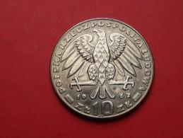 POLOGNE  POLAND  10  Zlotych   1967   GENERAL SWIERCZERWSKI        CUPRONICKEL-   UNC ++.       KM.Y 64 - Pologne