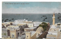 Libye Tripoli Italanna  Vista Dall Alto Del Forte Sultanie - Libia