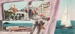 ALBENGA-MINICARTOLINA -SALUTI DA ALBENGA-2 SCAN- - Savona