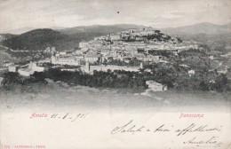 CARTOLINA: AMELIA - PANORAMA (UMBRIA) - VIAGGIATA - F/P - B/N -LEGGI - Autres Villes