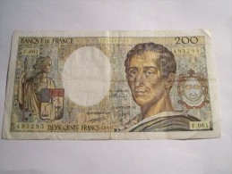 ----1- Billet 200 Francs Montesquieu-1988--F.061-qualite--TB-TTB----- - 1962-1997 ''Francs''