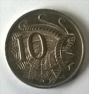 10 Cents 1974 - Elizabeth II - AUSTRALIE - - Monnaie Décimale (1966-...)
