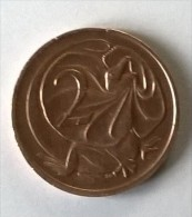2 Cents 1973 - Elizabeth II - AUSTRALIE - - Monnaie Décimale (1966-...)