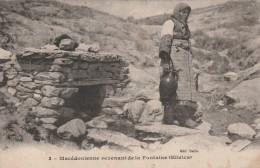 Macedonienne Revenant De La Fontaine  (Slivica) - Scan Recto-verso - Macédoine
