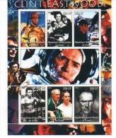 Foglietto Francobolli - Clint Eastwood - Acteurs