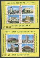 Modern Architecture In Romania, 1987 - Europa-CEPT