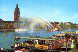 Frankfurt Am Main - Ortsansicht 6  Mit Bootsverleih - Frankfurt A. Main