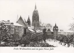 Frankfurt Am Main - S/w Leonhardskirche Und Dom - Frankfurt A. Main