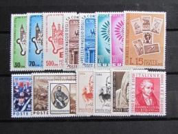 ITALIA NUOVI 1964 - ANNATA COMPLETA Solo Posta Ordinaria 15 Valori - NUOVI MNH ** - S. - 6. 1946-.. Repubblica