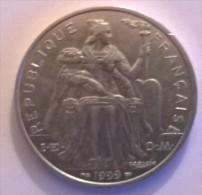 POLYNESIE FRANCAISE - 5 Francs 1999 - Alu - - Polynésie Française