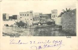 Pays Divers- Ref E336- Sultan Palace -lahej -protecterat D Aden - Fas - Federation D Arabie Du Sud -carte Bon Etat  - - Non Classés