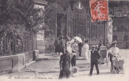 55 MEUSE   BAR LE DUC  L'entrée Du Parc N° 43 - Bar Le Duc