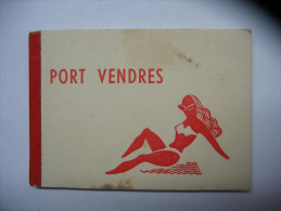 Port Vendres Carnet Mini Vues (frais De Port 1.60 Euro) - Port Vendres